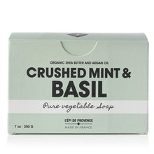 Load image into Gallery viewer, Crushed Mint & Basil Soap