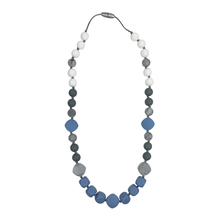 Load image into Gallery viewer, Blue Grey Teething Necklace