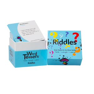 Riddles Word Teasers Trivia Cards