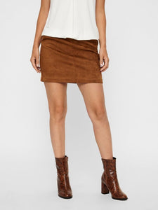 SHORT SKIRT CAMEL