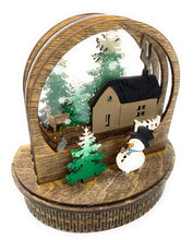Load image into Gallery viewer, Holiday 3D Custom Built & Painted Holiday Globe