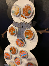 Load image into Gallery viewer, Christmas Snowman Keurig Holder hand painted