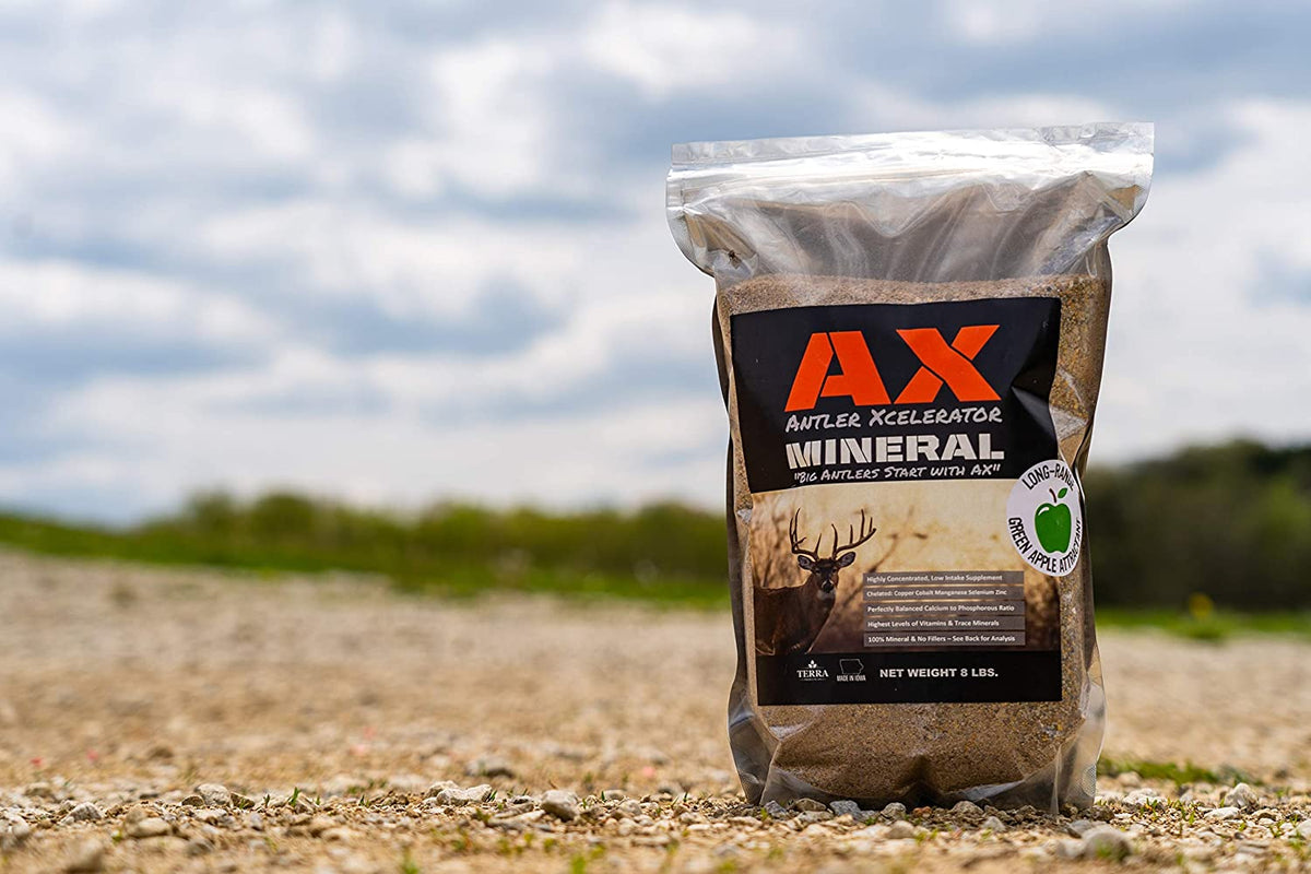Terra Products Co. AX Deer Mineral - Antler Xcelerator for Deer