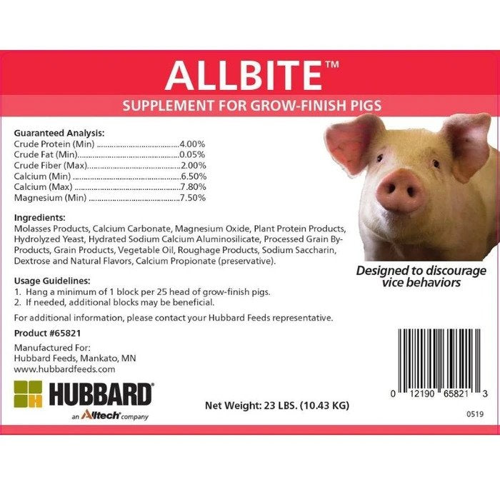 Alltech AllBite™ - Tail Biting Solution for Pigs