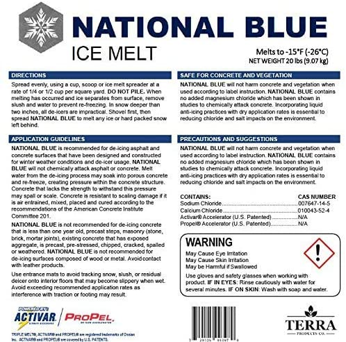 National Blue Ice Melt