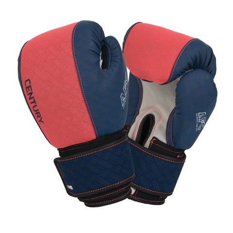 Century Brave Ladies Neoprene Gloves - Coral/Navy - Gymzey.com