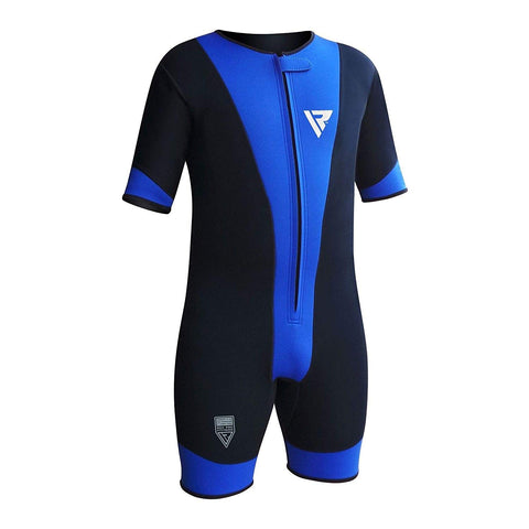 RDX Sports Clothing Neoprene Dangri - Blue - Gymzey.com