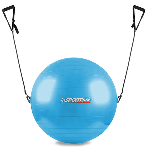 inSPORTline Exercise Swiss Ball with Grips - 75cm - Gymzey.com