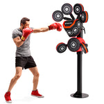12 Targets Steel Boxing Trainer BoxHeist - Adjustable up to 6.3ft - Gymzey.com