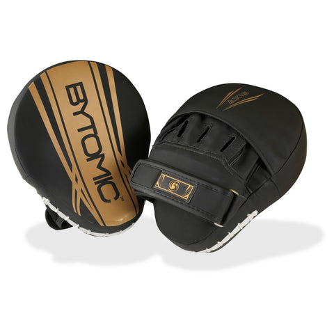 Bytomic Axis V2 Focus Mitts - Black/Gold - Gymzey.com