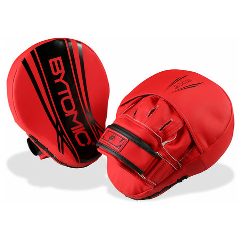 Bytomic Axis V2 Focus Mitts - Red/Black