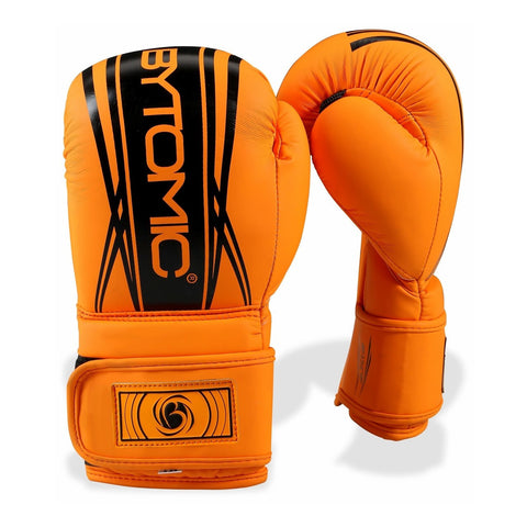 Axis V2 Kids Boxing Gloves Orange/Black - Gymzey.com