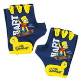 Kids Cycling Gloves Bart Simpson - Gymzey.com