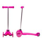 Kids Tri Scooter with Light-Up Wheels (Age 2+) - Pink - Gymzey.com