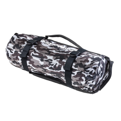 Fitness Bag Camobag 25kg with 3 inner bags for weight adjustment - Gymzey.com