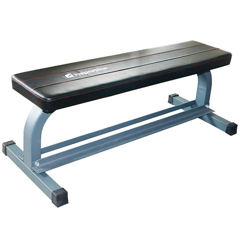 Flat Steel Frame Bench with Dumbbells Storage - Gymzey.com