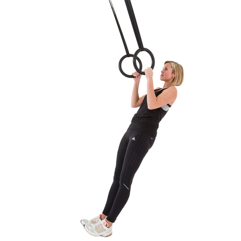 Quality Gymnastic Rings with Adjustable Straps for Indoors and Outdoors - Gymzey.com
