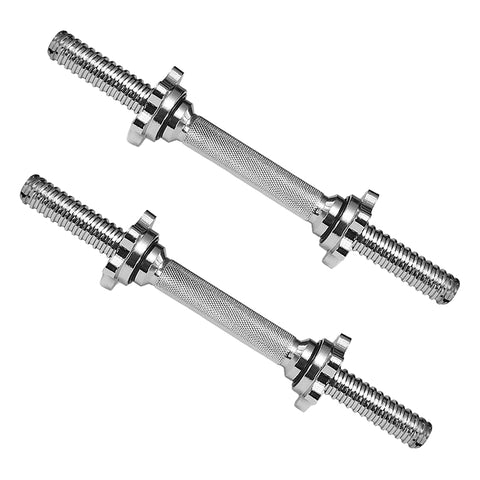 Threaded Dumbbell Bar (30mm) - pair - Gymzey.com
