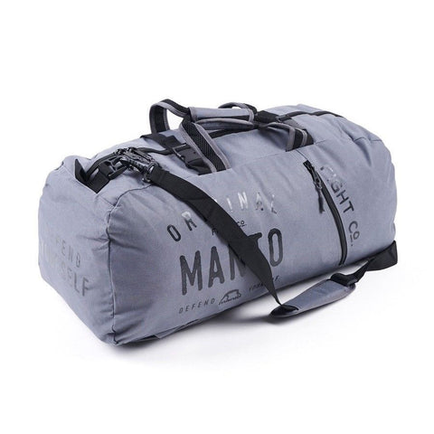 Manto Fight Co Sports Bag Grey - Gymzey.com