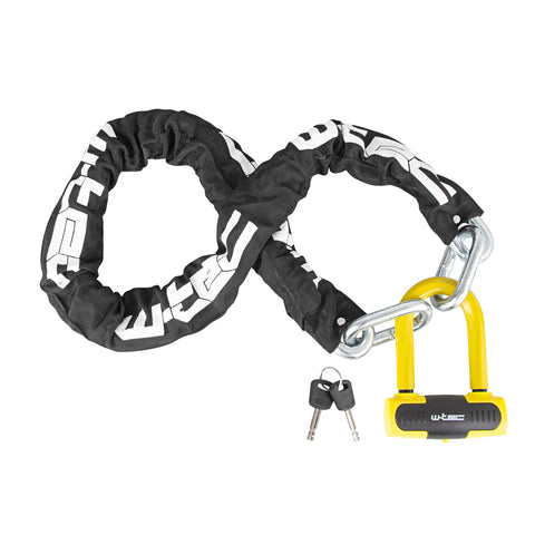 Hardened Steel Chain Lock for Motorcycle/Bicycle 1200 mm - Gymzey.com