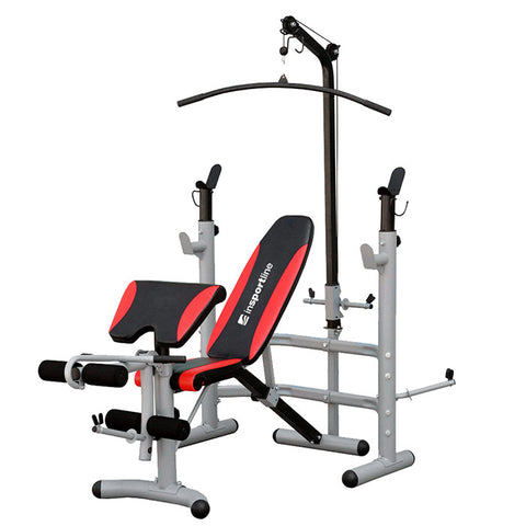 Multi-Purpose Adjustable Bench, Scott Station and Pulley - Gymzey.com