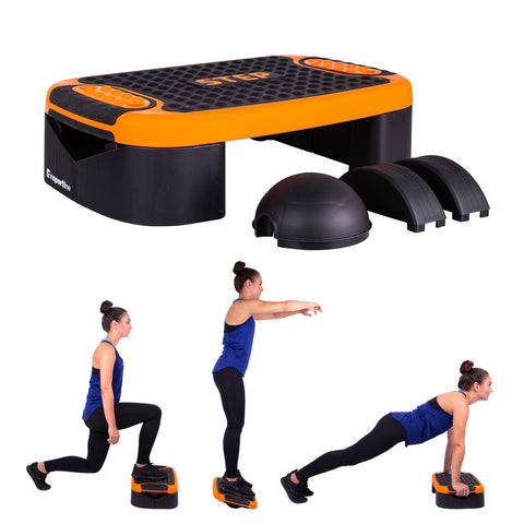 Multifunctional Aerobic Step Platform and Balance Trainer Set - Gymzey.com