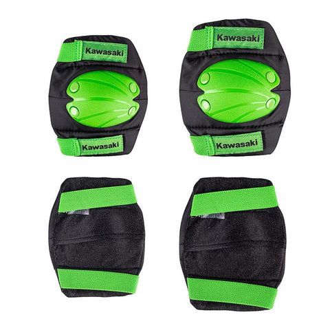 Kawasaki Kids Elbows and Knees Pads 4pcs Set - Gymzey.com