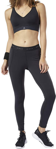 Reebok LES MILLS® Lux Tights 2.0 Leggings - Black - Gymzey.com