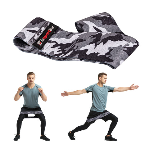 Textile Resistance Band with anti-slip strips on the inside 86cm - Heavy-Load - Gymzey.com