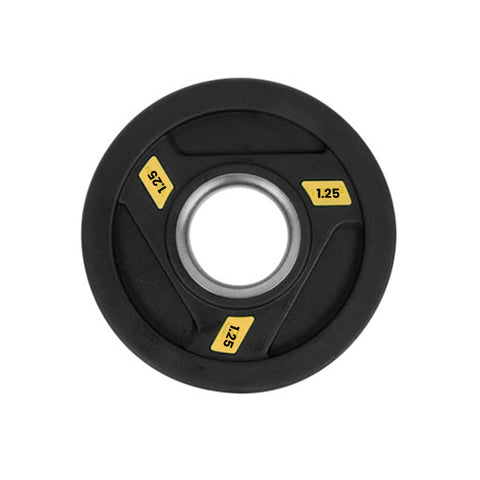 Rubber Coated Olympic Weight Plate - 1.25kg - Gymzey.com