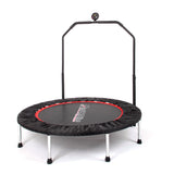 Trampoline with Handlebar and Digital Jump Counter 122cm - Gymzey.com