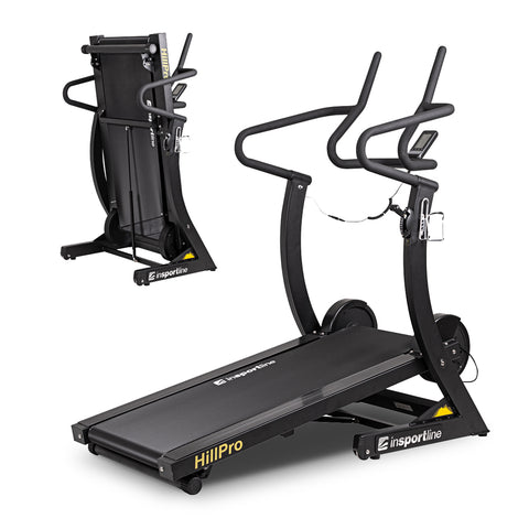 Treadmill Hill Pro - uphill motorless experience, practical folding mechanism