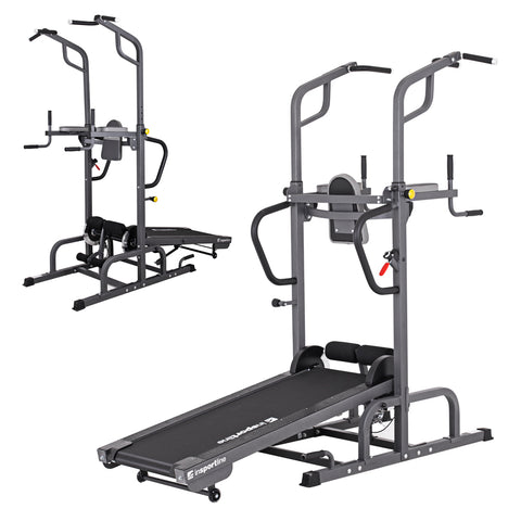 Treadmill with Pull-Up Bar 5-in-1 Tongu - Gymzey.com