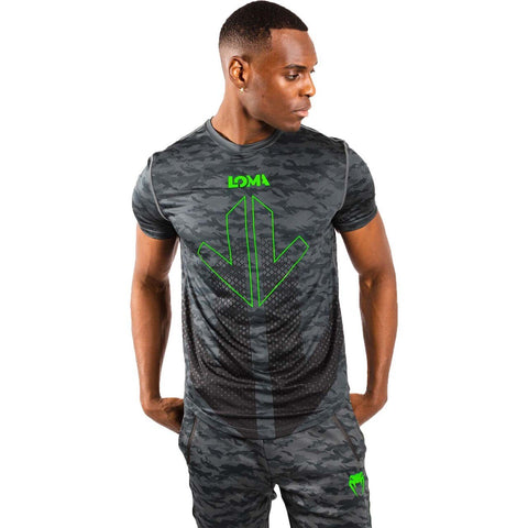 Venum Arrow Loma Signature Collection Dry Tech T-Shirt - Gymzey.com