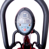 Vibration Platform VibroGym Lotos Red with LED Display