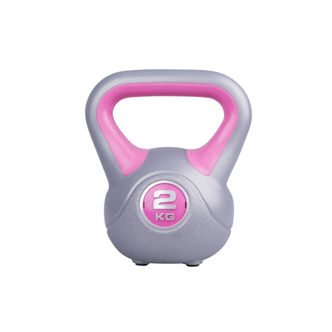Triangle Grip Kettlebell with Rubber Pads - 2kg - Gymzey.com