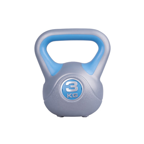 Triangle Grip Kettlebell with Rubber Pads - 3kg - Gymzey.com