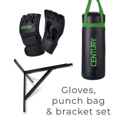 Century Brave Youth Glove and Punch Bag + Bracket Set / Bundle - Gymzey.com