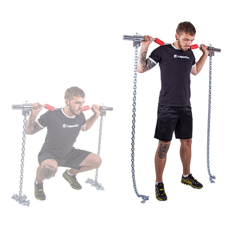 Steel Weight Lifting Chains Chainbos 5kg - Gymzey.com