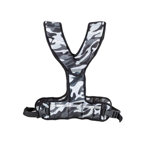 Weighted Vest with Pocket FitUp 3kg - Camo Grey - Gymzey.com