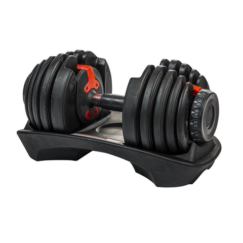 Adjustable Dumbbell 1 x 24kg BOWFLEX, change from 2.5 to 24kg