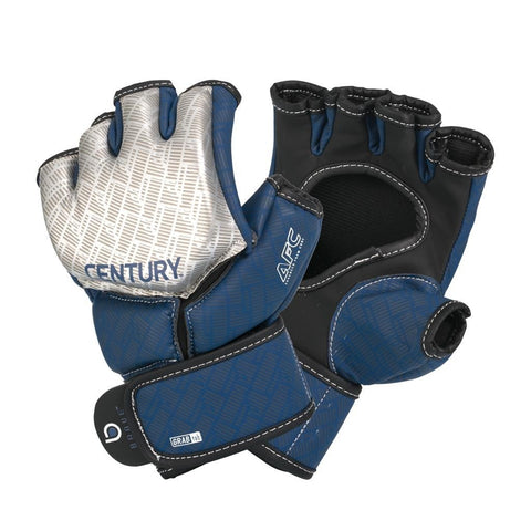 Century MMA Competition Gloves - Silver/Navy - Gymzey.com