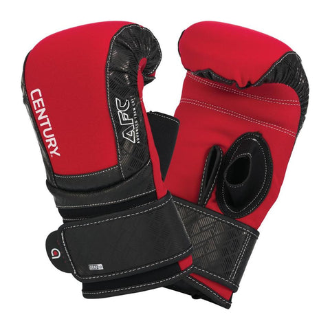 Century Brave Neoprene Bag Gloves - Red/Black - Gymzey.com