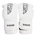 Diagor Olympic Boxing Gloves 10oz White - Gymzey.com