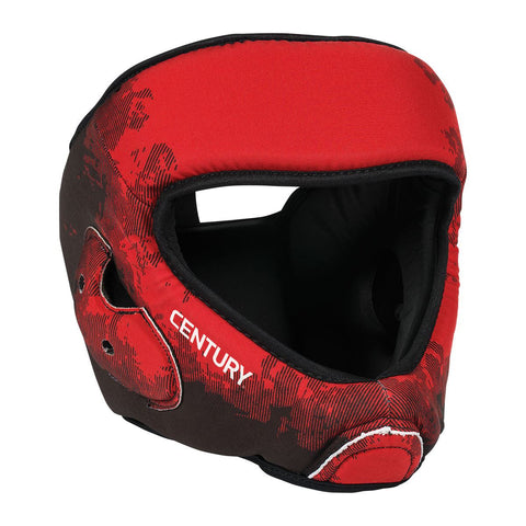 Century C-Gear Washable Sparring Head Guard - Red/Black - Gymzey.com