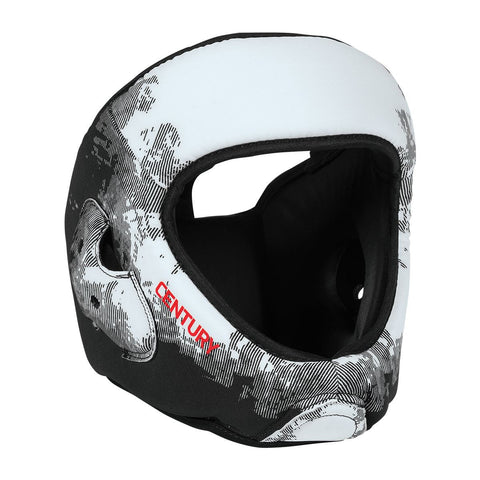 Century C-Gear Washable Sparring Head Guard - White/Black - Gymzey.com