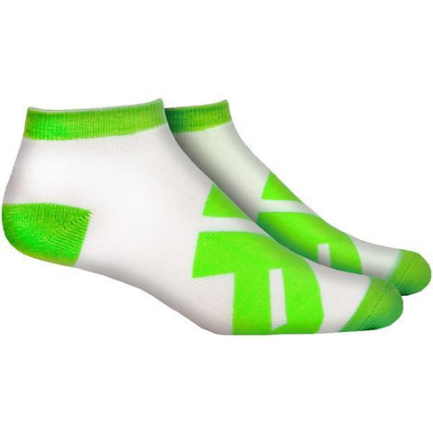 MusclePharm Sports Low Socks - White - gymzey-com