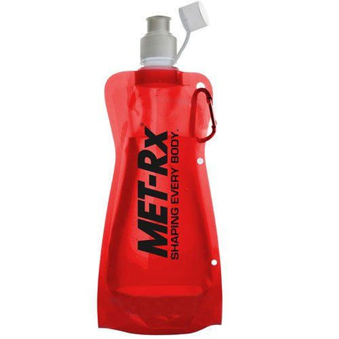 MET-Rx Foldable Sports Bottle 550ml (20oz) - gymzey-com