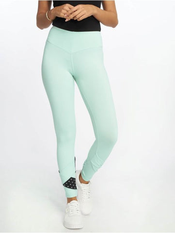 Nebbia Asymmetrical 7/8 Leggings 639 - Mint - gymzey-com