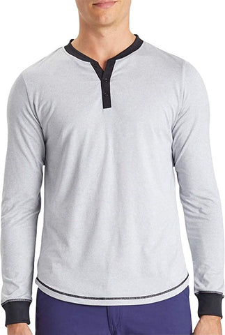 Ohmme Dawn Long Sleeve Gym Top - Grey - Gymzey.com